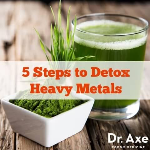 Diet Tops to Help Detox Heavy Metals - The Power Hour Radio