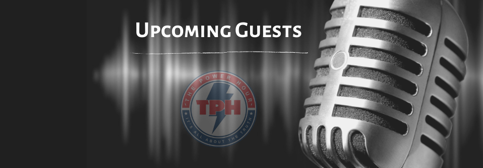 Upcoming Guests: May 25 -29, 2020